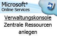 Microsoft Online Services – Administratoren – Verwaltung von Konferenzräumen über Exchange Online