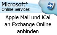 Videocast Apple Mail und iCal an Microsoft Exchange Online anbinden