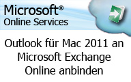 Videocast: Wie man Outlook für Mac 2011 an Microsoft Exchange Online anbindet