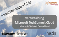 Microsoft TechSummit Cloud Days