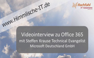 Videointerview mit Steffen Krause – TechSummit Cloud