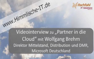 "Videointerview mit Wolfgang Brehm über ""Partner in die Cloud"""