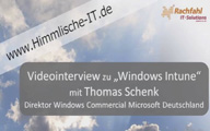 Videointerview mit Thomas Schenk zur PC-Verwaltung und Windows aus der Cloud