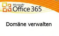 Office 365 – Domäne verwalten