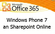 Windows Phone 7 an Sharepoint Online anbinden