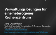 Hyper-V-Community – System Center 2012 – Jörg Ostermann
