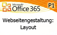 Video Office 365 P1 Webseite in SharePoint Online – Layout