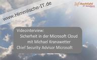 Videointerview: Sicherheit in der IT und der Cloud mit Michael Kranawetter