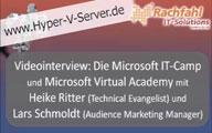 Videointerview zum Microsoft IT-Camp und der Microsoft Virtual Academy