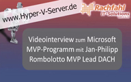 Videointerview mit Jan-Philipp Rombolotto MVP Lead DACH