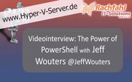 Videointerview with Jeff Wouters about Powershell