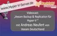 Videocast – Veeam Backup und Replication 6.1