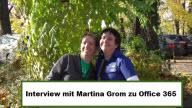 Videointerview mit Martina Grom MVP Office 365 auf den Microsoft Community Open Days 2012