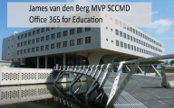 Videointerview: James van den Berg MVP SCCDM Office 365 for Education