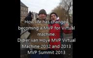 Videointerview: Didier van Hoye MVP Virtual Machine – To be a MVP
