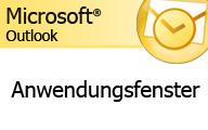 Outlook 2007 – Das Anwendungsfenster