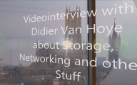 Videointerview with Didier Van Hoye about Storage, Networking and Stuff