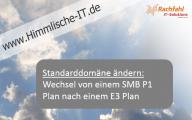 Videocast: Wie ändere ich die Standarddomäne in Office 365