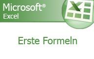 Excel 2007 Grundlagen erste Formeln