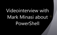 """Interview with Mark Minasi about """"Why should you learn PowerShell"""""""