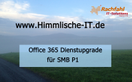 Videocast: Dienstupgrade mit dem Small Business Plan P1