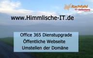 Videocast: Dienstupgrade SMB P1 öffentliche Webseite Umstellen der Domäne