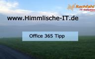 Videocast: Office 365 Tipp – Fehlerlösung bei dem öffentlich Blog von SharePoint