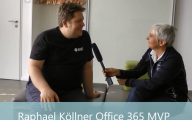 Videointerview: Raphael Köllner MVP für Office 365 zu Social Enterprise und Compliance