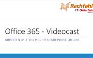 Ein Theme für Office 365 SharePoint Online mit Bindtuning gestalten