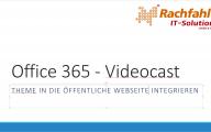 Ein Theme der öffentlichen Website in Office 365 SharePoint Online zuordnen