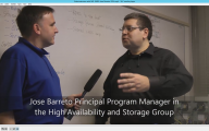 Video interview with Mr SMB3 Jose Barreto about Storage in vNext