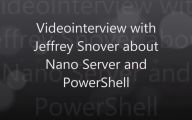 Videointerview with Jeffrey Snover about PowerShell and more…