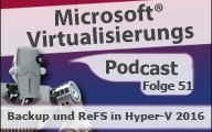 Microsoft Virtualisierungs Podcast Folge 51–Backup und ReFS