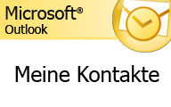 Outlook 2007 – Meine Kontakte