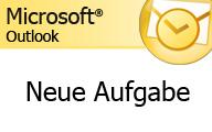 Outlook 2007 – Neue Aufgabe