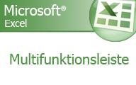 Excel 2007 – Die Multifunktionsleiste