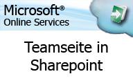 Microsoft Online Services – Anwender – Teamseite in Sharepoint
